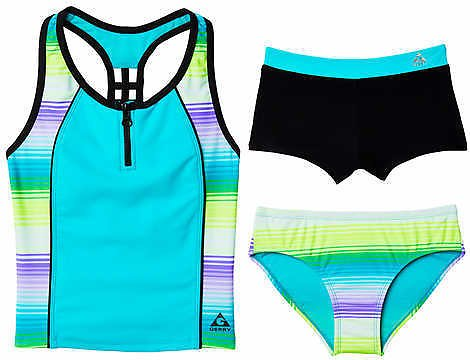 Gerry Youth 3-piece Swimsuit Set, Teal