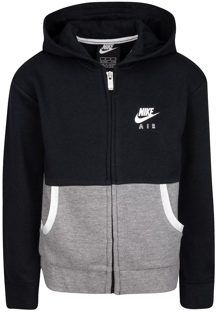 Nike® Girls 4-6X Full Zip Color Block Fleece Jacket