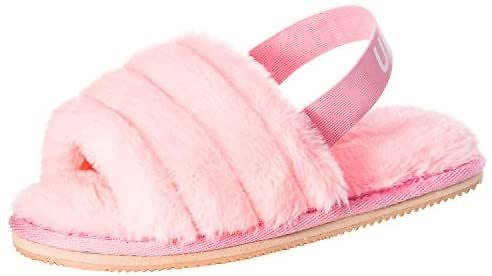Womens Fuzzy Fluffy House Slippers