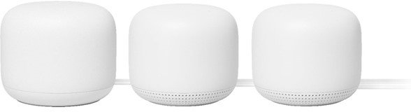 Google Nest Wifi Router + 2 Points (2nd Generation)