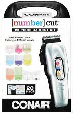 Conair Number Cut Color Coated Haircut Kit