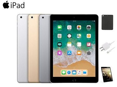 Apple IPad 5 Bundle with Screen Protector, Case and Charger (32GB)