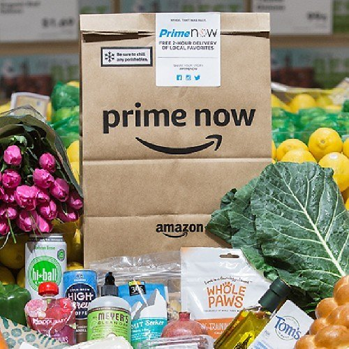 $10 Off First 'Prime Now' Purchase
