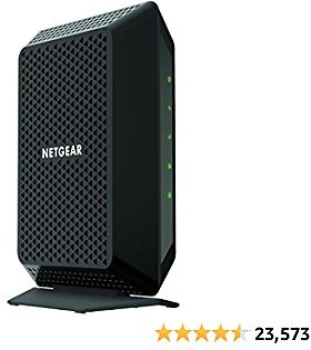 NETGEAR Cable Modem CM700 - Compatible with All Cable Providers Including Xfinity By Comcast, Spectrum, Cox | For Cable Plans Up to 500 Mbps | DOCSIS 3.0