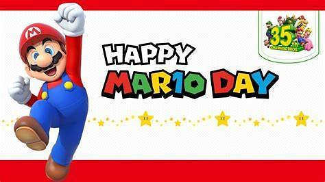 35% Off Happy Mario Day Event + Extra 10% Off