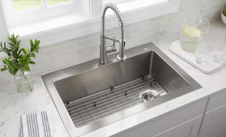 Up to 55% Off Kitchen Sinks, Faucets, Cabinets & More!
