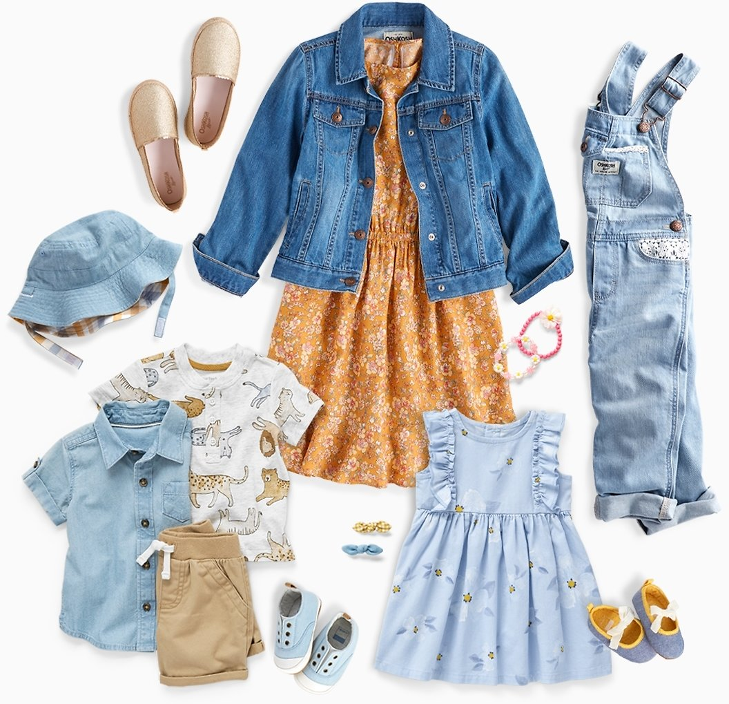 Get Your Kids Spring-Ready With These New Outfits & Tips
