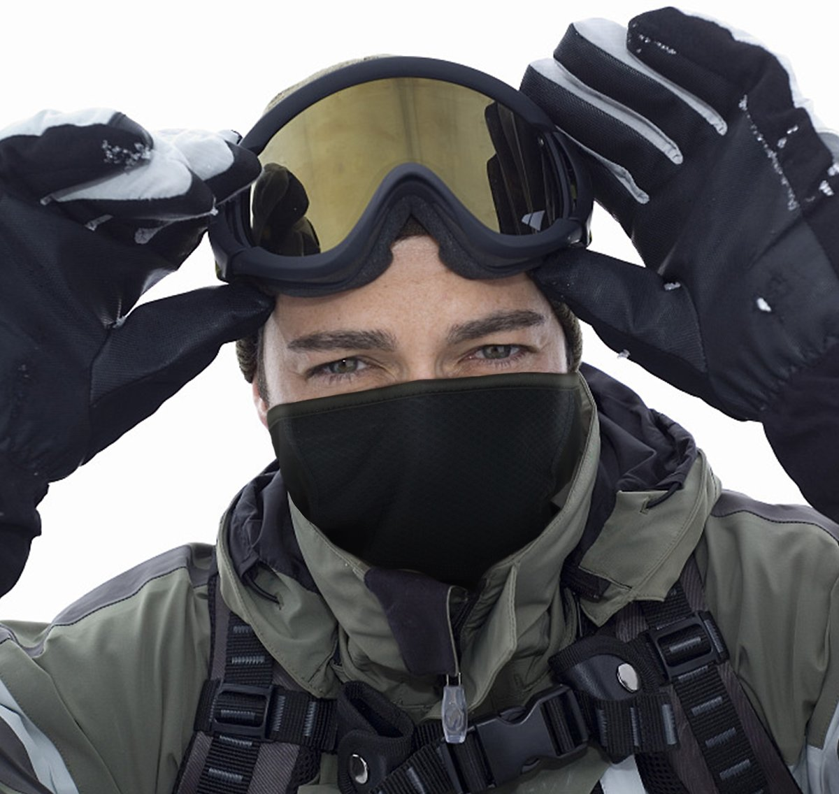 Save 50% On Neck Gaiter Warmer Winter Face Mask Cover for Cold Weather Windproof Breathable Ski Ma with Promo Code On Amazon.com