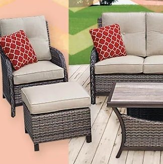Get Fired Up for Spring Patio Furniture