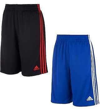 2-pack Adidas Youth Short, Blue