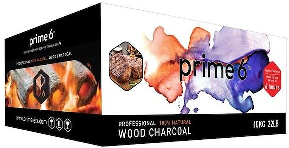 Prime 6 Sustainable Charcoal 22lb