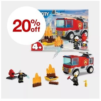 Save 20% Off On Select LEGO Building Sets