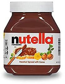 Nutella Chocolate Hazelnut Spread, Perfect Topping for Easter Treats, 26.5 Oz Jar : Grocery & Gourmet Food