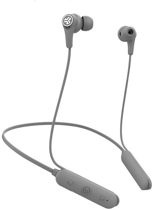 JLab Audio Epic Executive Wireless Noise Cancelling In-Ear Headphones Gray EBEPICEXECRGRY123