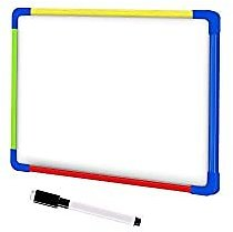 Amazon : Small Magnetic Double-Sided Whiteboards with Dry Erase Marker (8 X 12 Inch) For $3.50