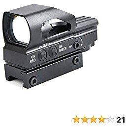 BESTSIGHT Red Dot Scope Hunting Products Reflex Sight Pistol Scope 20mm Rail Red Dot 4 Styles Crosshair/Circle/Dot Combinations Red/Green