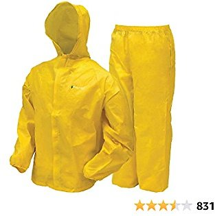FROGG TOGGS Youth Ultra-Lite2 Waterproof Breathable Rain Suit