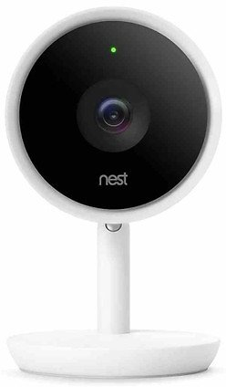 Nest NC3100US Cam IQ Indoor Security Camera - White