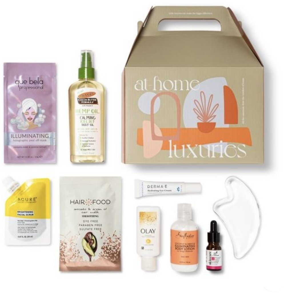 Target Beauty Capsule - At-Home Luxuries Bath and Body Gift Set - 9pc