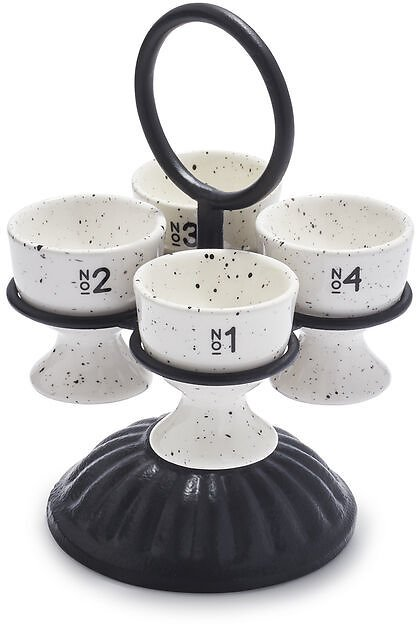 5-Piece Egg Caddy Set