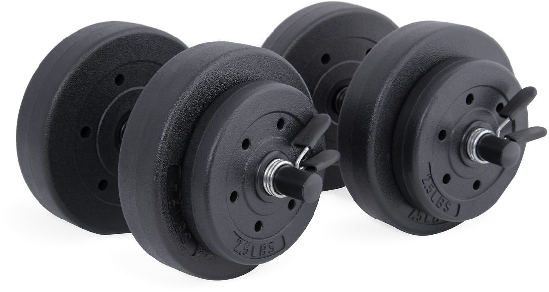 CAP Barbell 40-Pound Vinyl Dumbbell Set