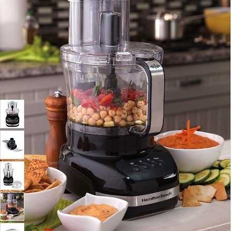 Black Big Mouth Duo Plus 12-Cup Food Processor