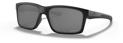Oakley MAINLINK XL Sunglasses In Matte Black With Polarized Lenses