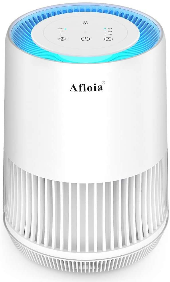 Afloia Air Purifier for Home with Air Quality Sensor