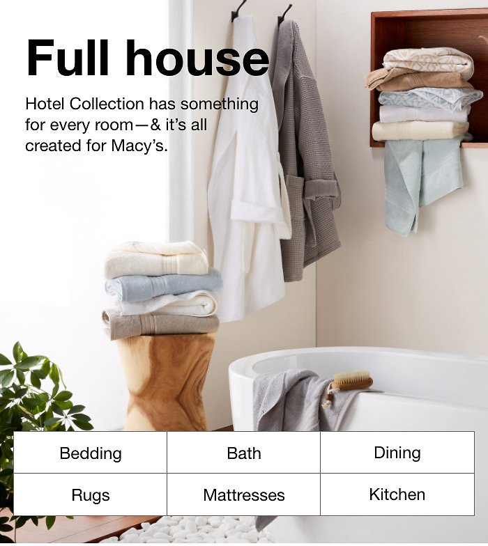 Up To 40% + Extra 25% Off Hotel Collection for Every Room - Macy's