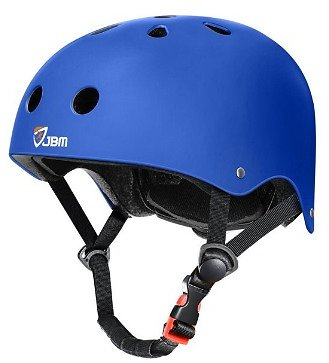 JBM Skateboard Helmet Bike Skate Multi-Sport Helmet for Cycling Skateboarding Scooter Roller Skate Inline Skating Rollerblading