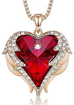 Amazon : Heart Necklace For Women For $7.99
