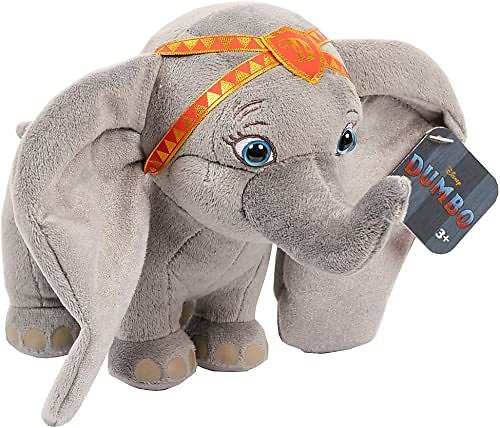 Dumbo Live Action Plush with Red Outfit, 6