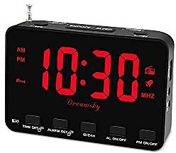 Alarm Clock Radio For Bedroom