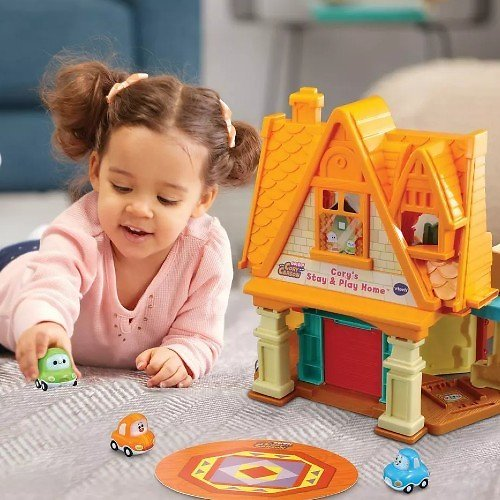 VTech Go! Go! Cory Carson Stay & Play Home
