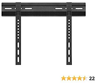 Cmple – Extremely Slim Velcro Fixed TV Wall Mount for 23