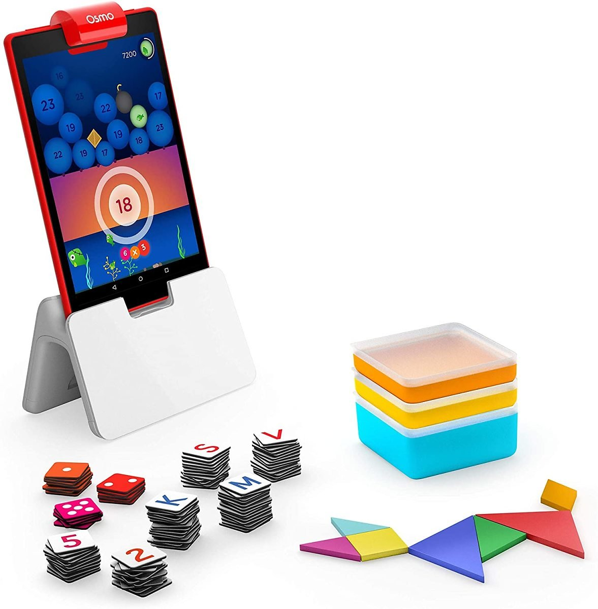 24% OFF - Osmo - Genius Starter Kit for Fire Tablet - 5 Educational Learning Games - Ages 6-10