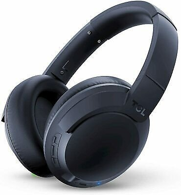 TCL On-Ear Noise Cancelling HI-RES Bluetooth Wireless Headphones - Midnight Blue 846042011525