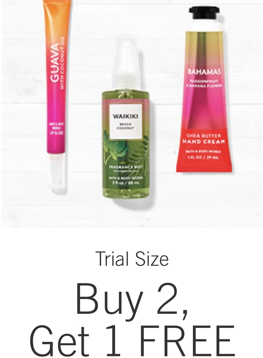 Trial Size - Buy 2 Get 1 Free