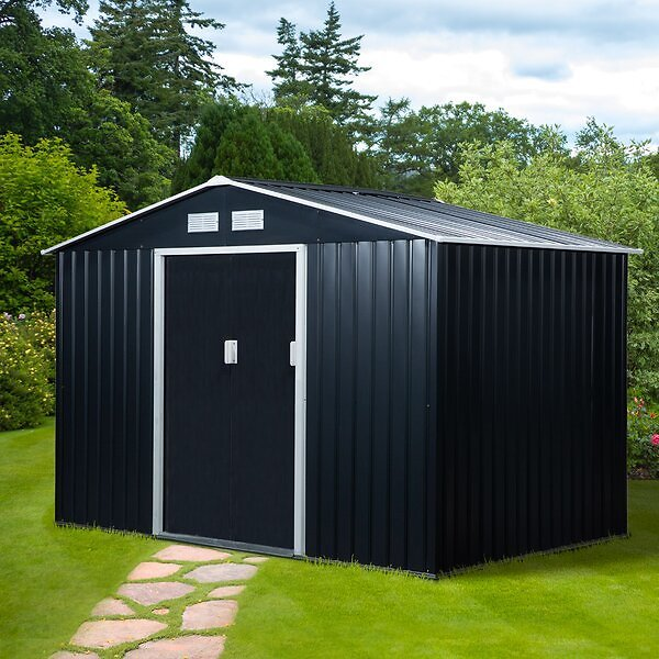 out of stock !! 6 Ft. W X 6 Ft. D Metal Tool Shed