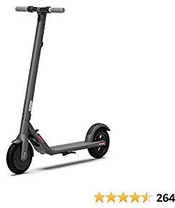 Segway Ninebot Electric Kick Scooter, E22, E45 with External Battery, Upgraded Motor Power, 9-inch Dual Density Tires