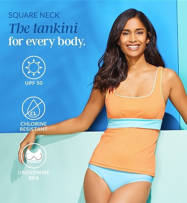 Up to 40% Off New Tankinis & All Swim - Land's End