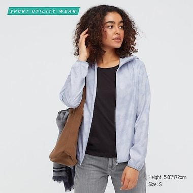 Women's UV Protection Pocketable Parka ( 5 Colors)
