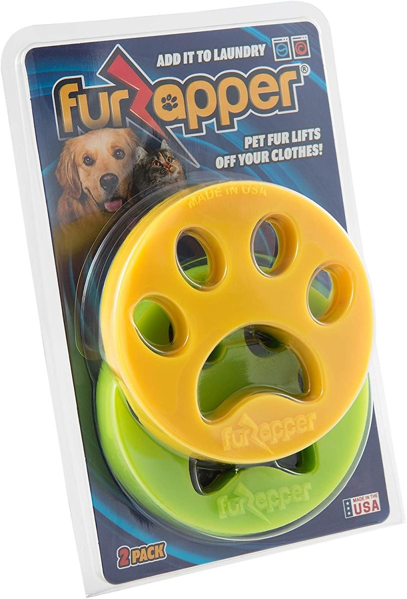 Pack of 2 - Genuine FurZapper Pet Hair Remover for Laundry