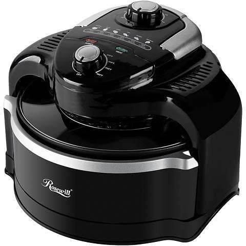 Open Box: Rosewill Air Fryer 7.4-Quart (7 Liter) Oil-Less Low Fat Multicooker with Temperature and Timer Settings, 1000W Infrared Technology, Includes Frying Basket and Accessories - RHCO-19001 - Newegg.com