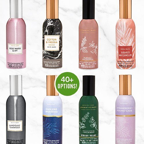 $3.95 Concentrated Room Sprays