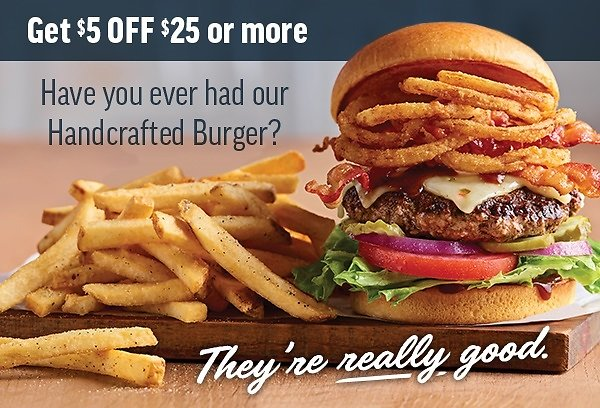 Get $5 Off By Joining Today! Applebee's