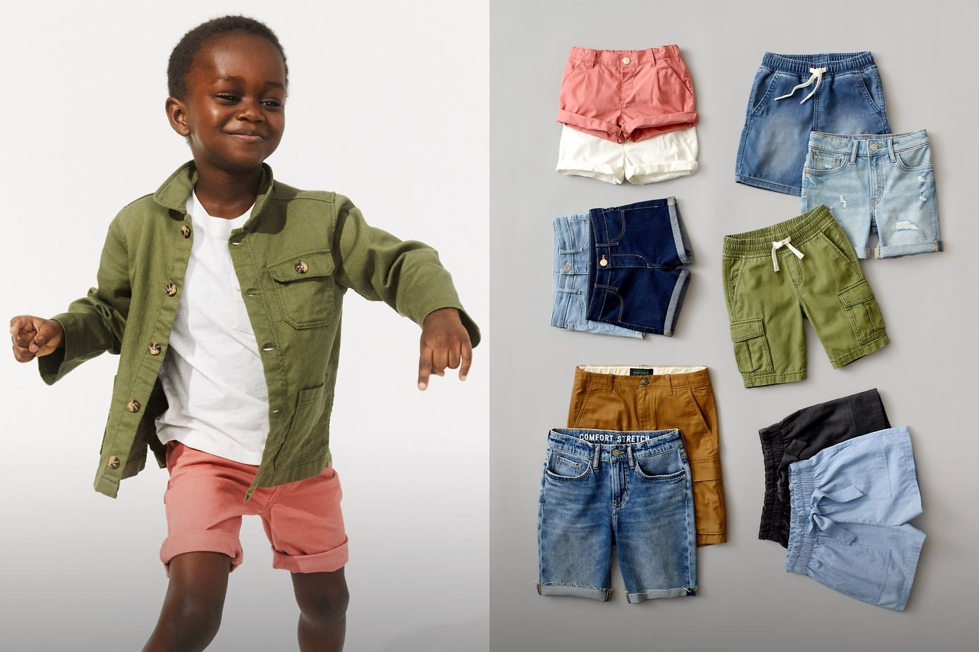Kids' Tops & Shorts from $4.99! H&M
