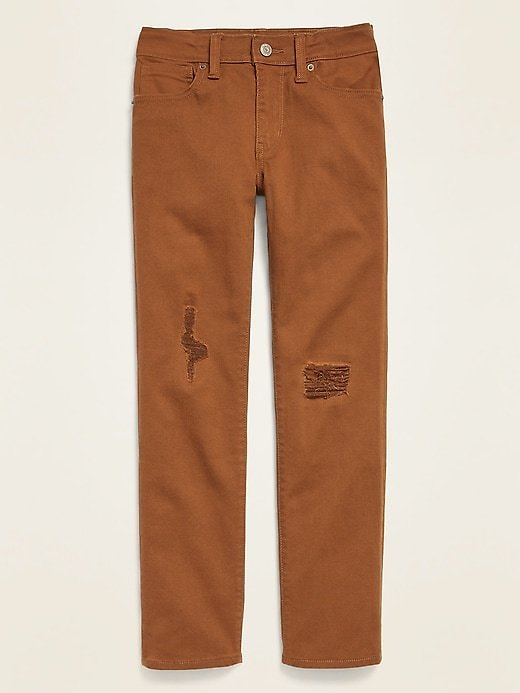 Old Navy,Karate Built-In Flex Max Distressed Slim Jeans for Boys | Old Navy