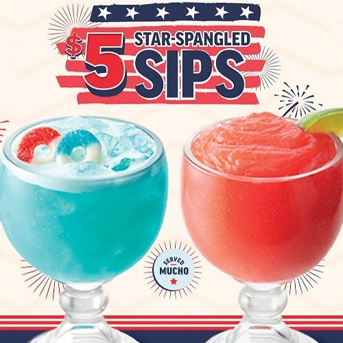 $5 Star-Spangled Sips (2 Options)