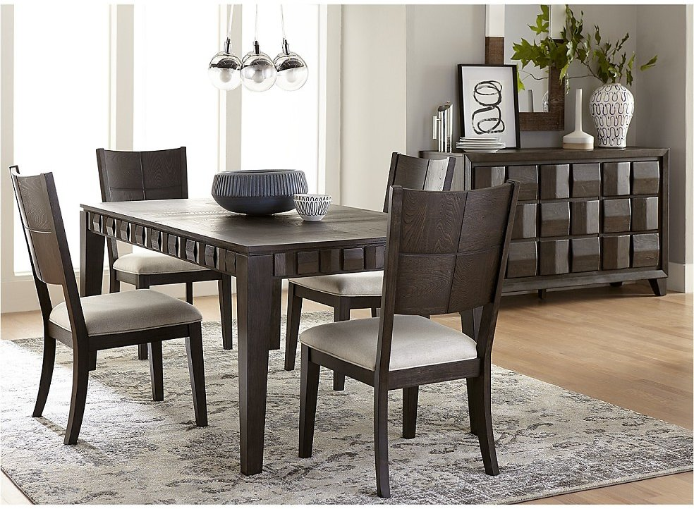 Matrix Dining Furniture, 5-Pc. Set (Table & 4 Side Chairs)
